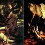"""immagini due """"conversioni"""" eseguite da Caravaggio"""