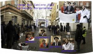 Cartolina Carnevale Borgotarese Coppa del Sabione 2012 LUPEN