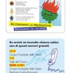 Card - numeri utili Antincendio Boschivo Emilia Romagna