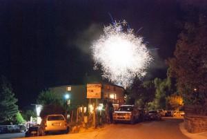 Fuochi artificiali Festa dell'Emigrante 2012 Bergotto Berceto (107)