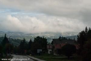 2012-10-29 Albareto mattina neve in Val Taro