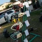 Fiera del Fungo Albareto 08-09-2012 (323) mostra motoseghe d'epoca