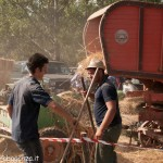 Fiera del Fungo Albareto 09-09-2012 (369) Antica trebbiatura