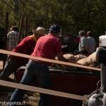 Fiera del Fungo Albareto 09-09-2012 (382) Antica trebbiatura