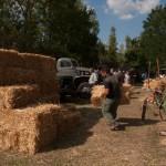 Fiera del Fungo Albareto 09-09-2012 (384) Antica trebbiatura