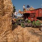 Fiera del Fungo Albareto 09-09-2012 (392) Antica trebbiatura
