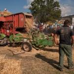 Fiera del Fungo Albareto 09-09-2012 (394) Antica trebbiatura