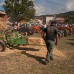 Fiera del Fungo Albareto 09-09-2012 (395) Antica trebbiatura