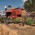 Fiera del Fungo Albareto 09-09-2012 (397) Antica trebbiatura