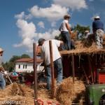 Fiera del Fungo Albareto 09-09-2012 (401) Antica trebbiatura