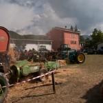 Fiera del Fungo Albareto 09-09-2012 (402) Antica trebbiatura