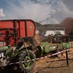 Fiera del Fungo Albareto 09-09-2012 (403) Antica trebbiatura