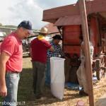 Fiera del Fungo Albareto 09-09-2012 (419) Antica trebbiatura