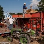 Fiera del Fungo Albareto 09-09-2012 (430) Antica trebbiatura