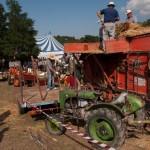 Fiera del Fungo Albareto 09-09-2012 (431) Antica trebbiatura
