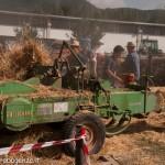 Fiera del Fungo Albareto 09-09-2012 (440) Antica trebbiatura