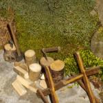 Presepe Natale 2012 se fosse Nato a Montegroppo (16) cavalletto legna (u cavalettu da faa a lègna)