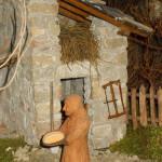 Presepe Natale 2012 se fosse Nato a Montegroppo (27) donna pane lievitato ( a levà)