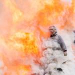Bedonia Carnevale 2013 p3 (282) falò. fuoco