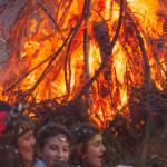 Bedonia Carnevale 2013 p3 (335) falò. fuoco