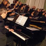 Corale Lirica Valtaro Circolo Ufficiali M. M. Spezia 09-03-2013 (155) Pianista Claudio Cirelli
