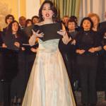 Corale Lirica Valtaro Circolo Ufficiali M. M. Spezia 09-03-2013 (178) Soprano Hitomi Kuraoka