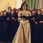 Corale Lirica Valtaro Circolo Ufficiali M. M. Spezia 09-03-2013 (182) Soprano Hitomi Kuraoka