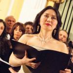 Corale Lirica Valtaro Circolo Ufficiali M. M. Spezia 09-03-2013 (183) Soprano Hitomi Kuraoka