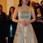 Corale Lirica Valtaro Circolo Ufficiali M. M. Spezia 09-03-2013 (270) Soprano Hitomi Kuraoka