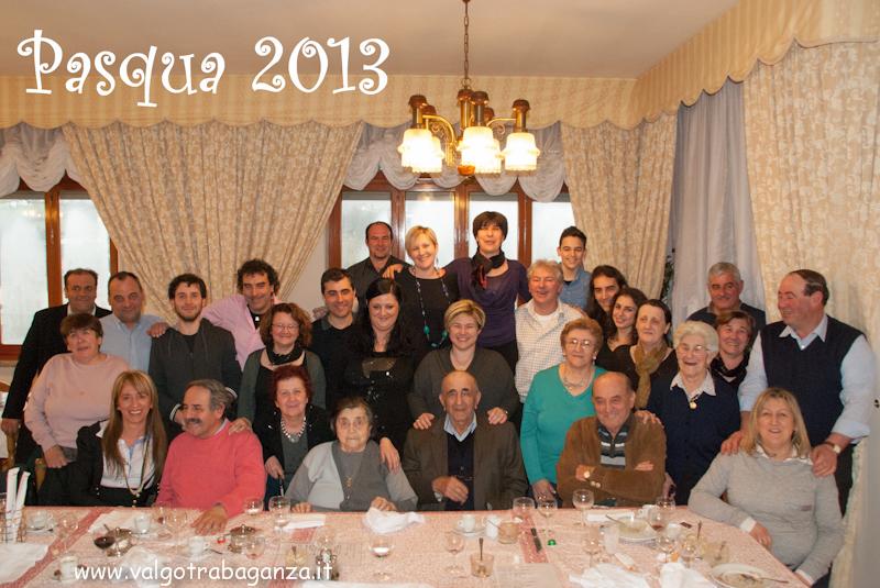 Pasqua 2013 famiglia Bassoni (1)