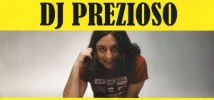 Locandina DJ Prezioso Festa in Pigiama