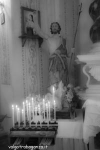 San Giovanni Battista Tombeto Albareto 23-06-2013 (133) statua