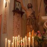 San Giovanni Battista Tombeto Albareto 23-06-2013 (136) statua