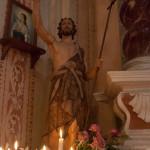 San Giovanni Battista Tombeto Albareto 23-06-2013 (137) statua