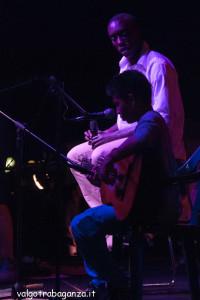 2013-08-10 Bedonia (115)  Lamine Samb con Kyran Oliver X – TARO finalisti