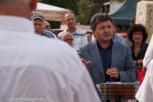 Fiera Fungo Albareto 2013 09-08 (590) Banda Concesio (Brescia) Costanzo Manza maestro