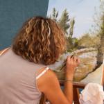 Fiera del Fungo Albareto 09-09-2012 (669) Estemporanea pittura