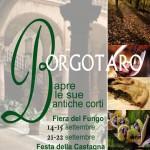 Locandina Bosco di Via 2013 Borgotaro apre le Antiche Corti