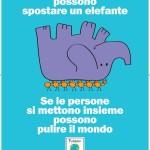 Puliamo il Mondo 2013 elefante