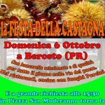 Festa Castagna Berceto 2013 locandina