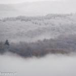2013-11-21 Prima neve in Val Gotra (109) neve nebbia