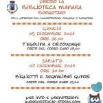 2013-12-07 Laboratorio creativo Biglietti segnalibri