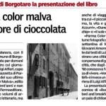 2013-12-22 articolo Brunelli Parma color malva