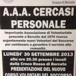 Cri Berceto Locandina Corso