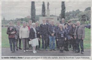 Foto Articolo Unitalsi Roma 2013