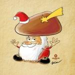 Natalino funghetto natalizio Borgotaro