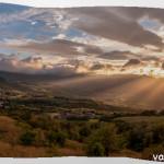 Tramonto 2013 Val Taro-Baganza Berceto Panoranica (1)