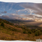 Tramonto 2013 Val Taro-Baganza Berceto Panoranica (3)