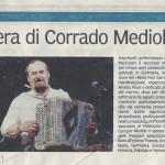 Articolo 50 anni Medioli Corrado fisarmonicista