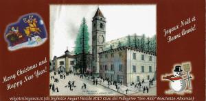 Auguri Buon Natale 2013 Casa del Pellegrino  (2) Boschetto Albareto (Parma)